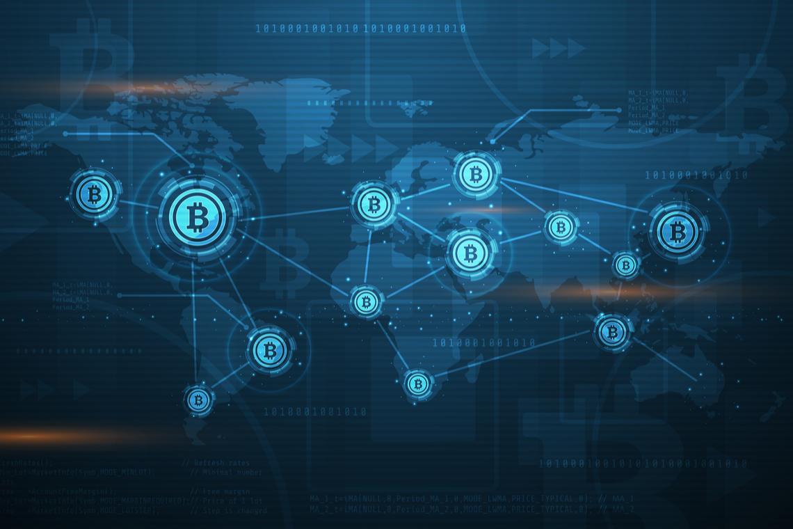 bitcoin blockchain map