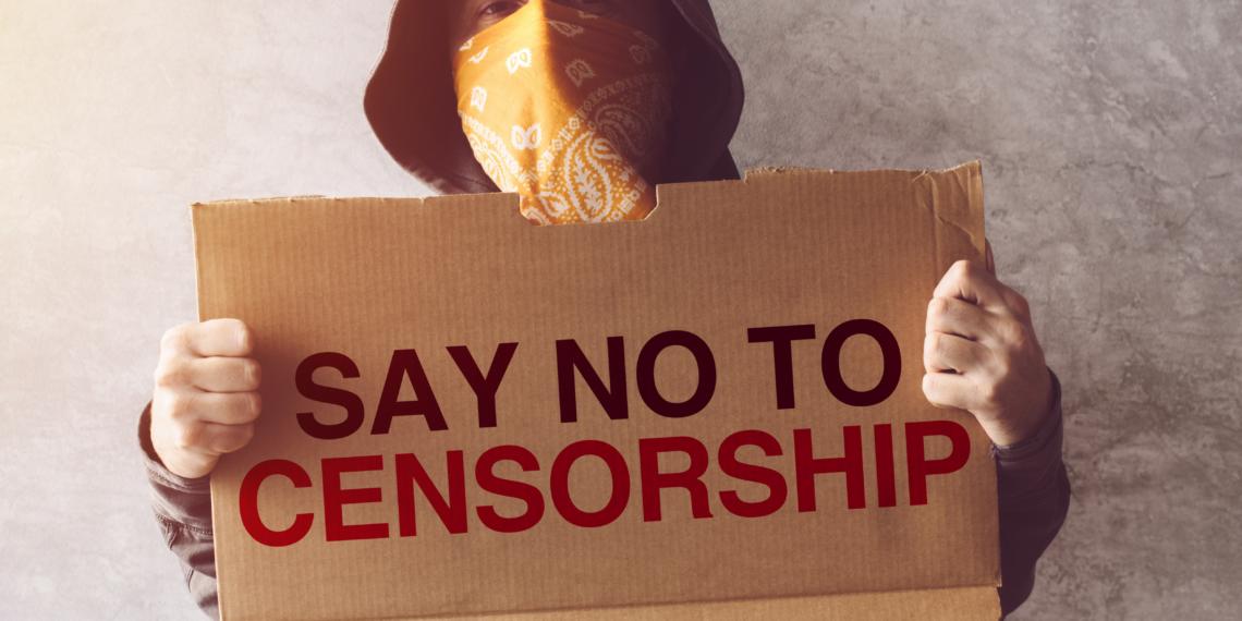 say no to censorship