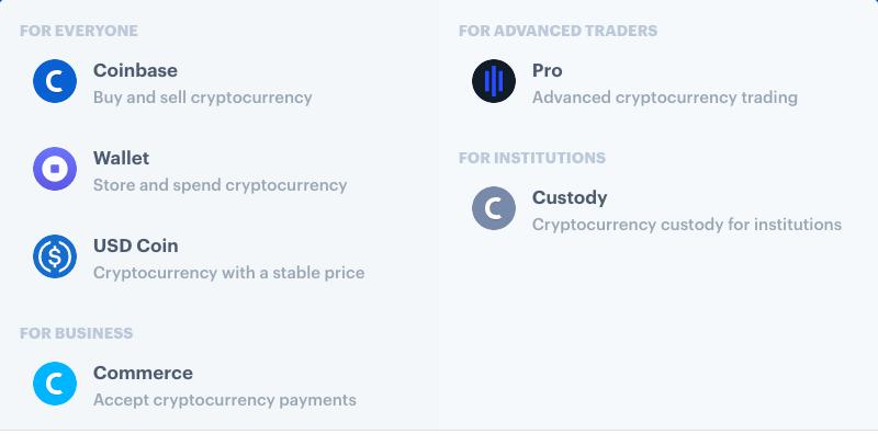 coinbase platforms