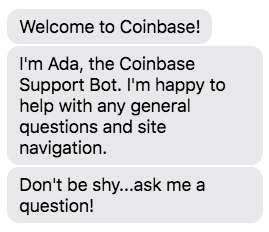 coinbase customer service
