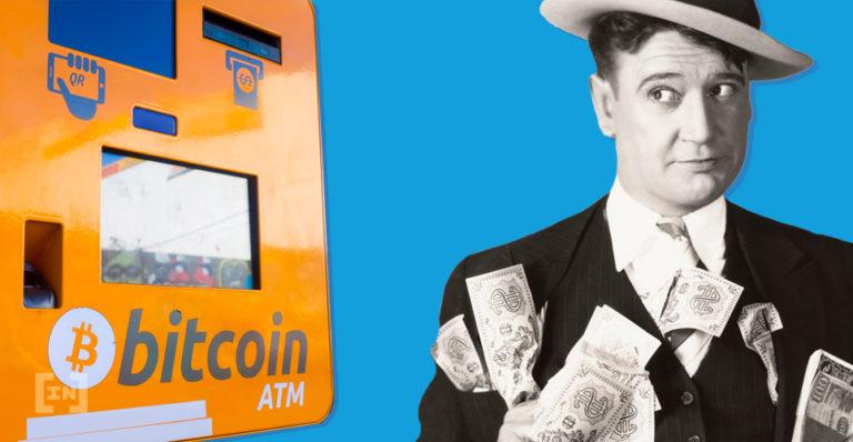 distributeurs automatiques de bitcoin