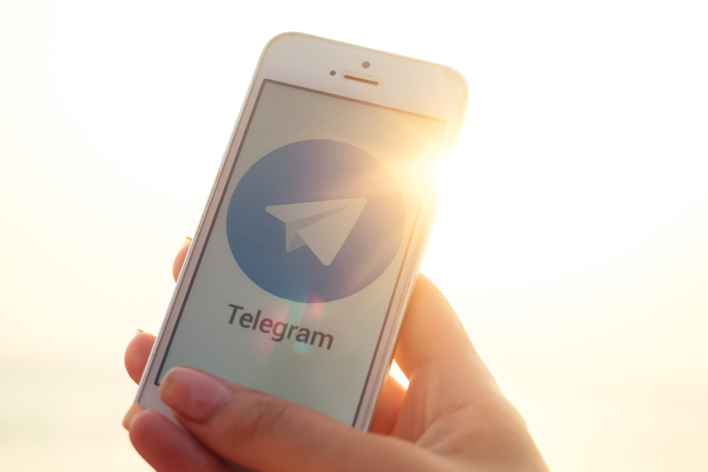 Telegram mobile