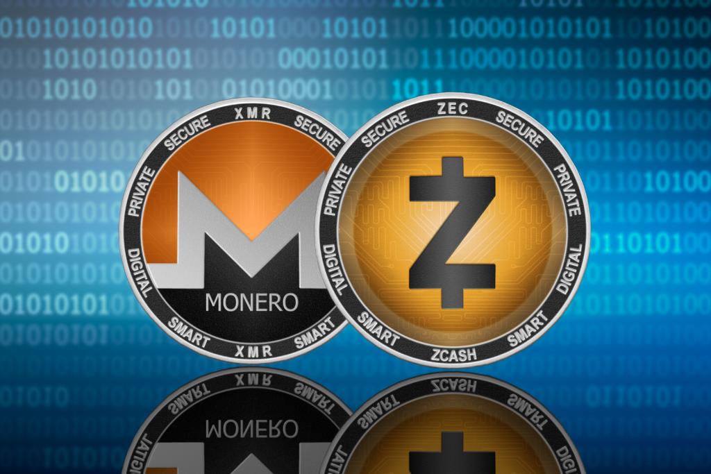 Monero (XMR) Zcash (ZEC)