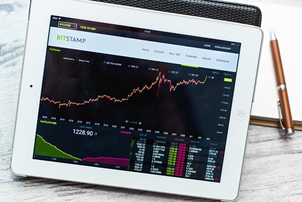 bitstamp exchange tablet
