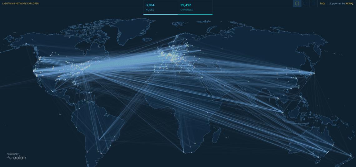 lightning network map