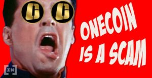 onecoin is a scam