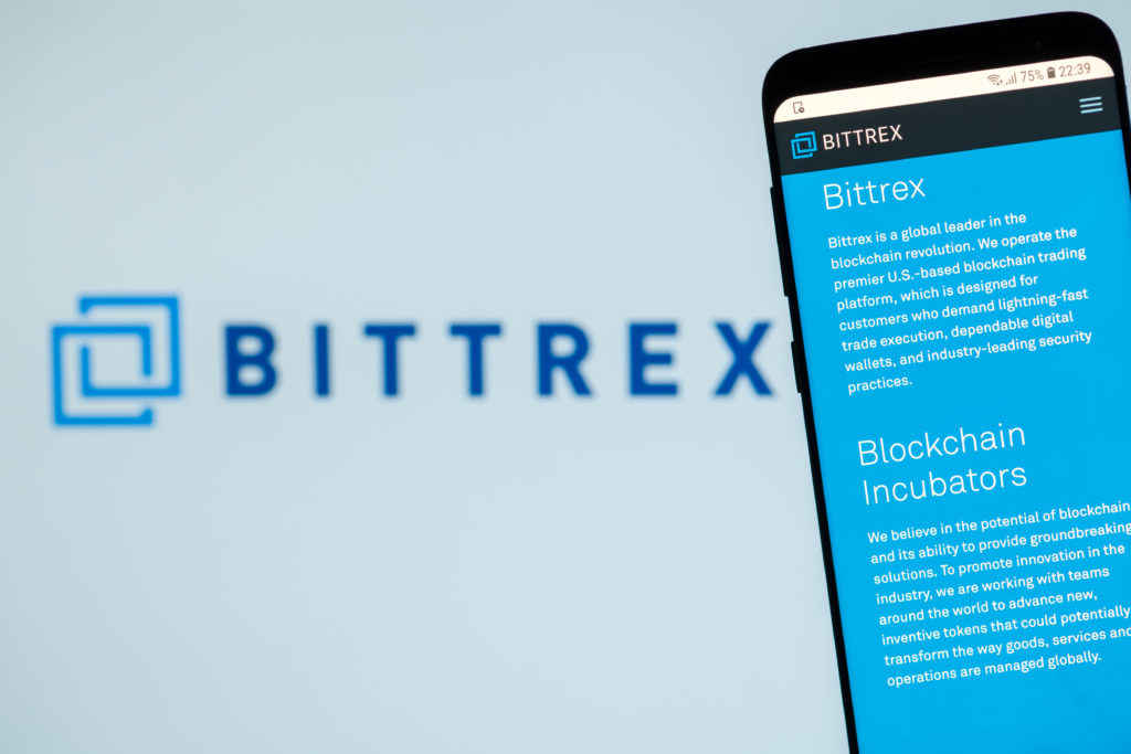 bittrex blockchain incubators