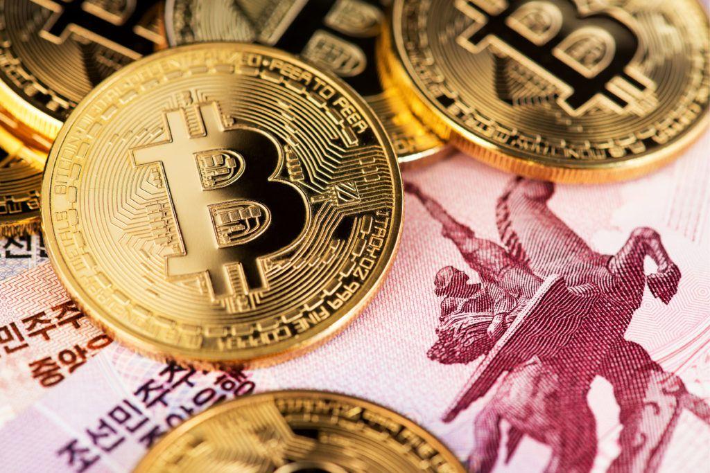 north korea bitcoins