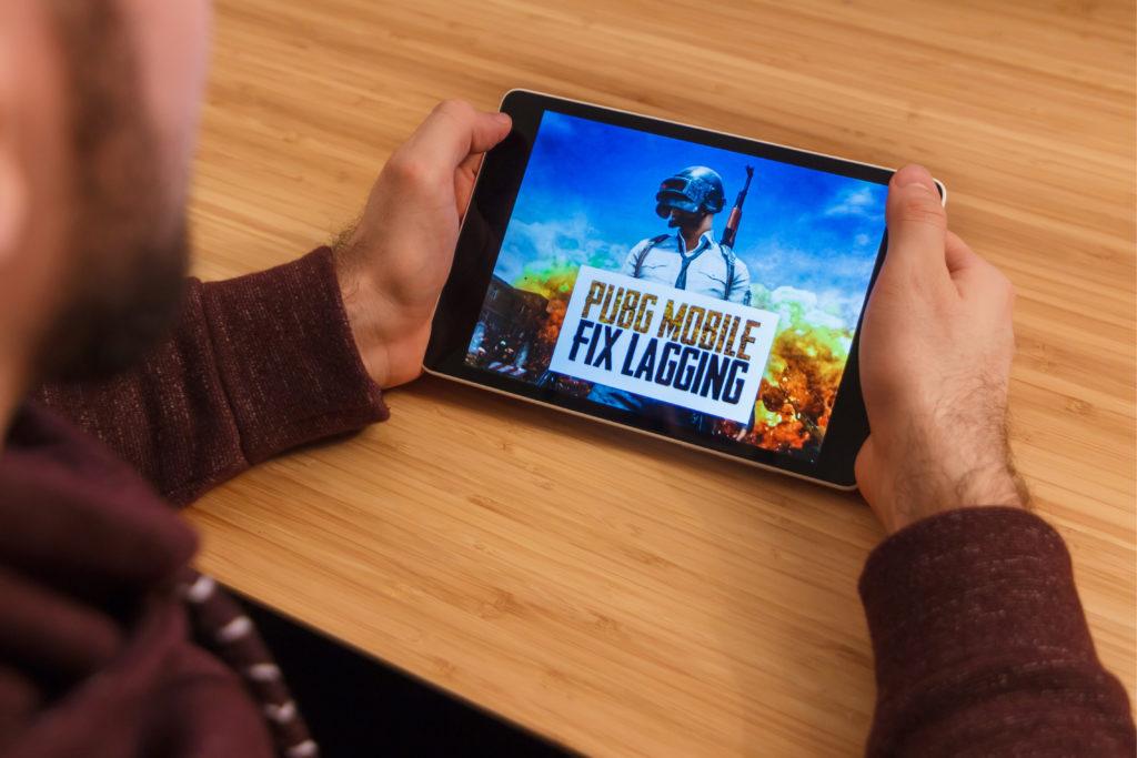 pubg mobile lagging
