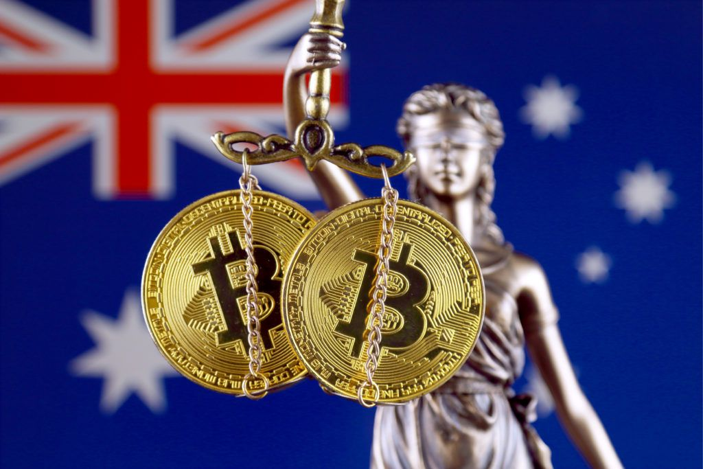 australia bitcoin law