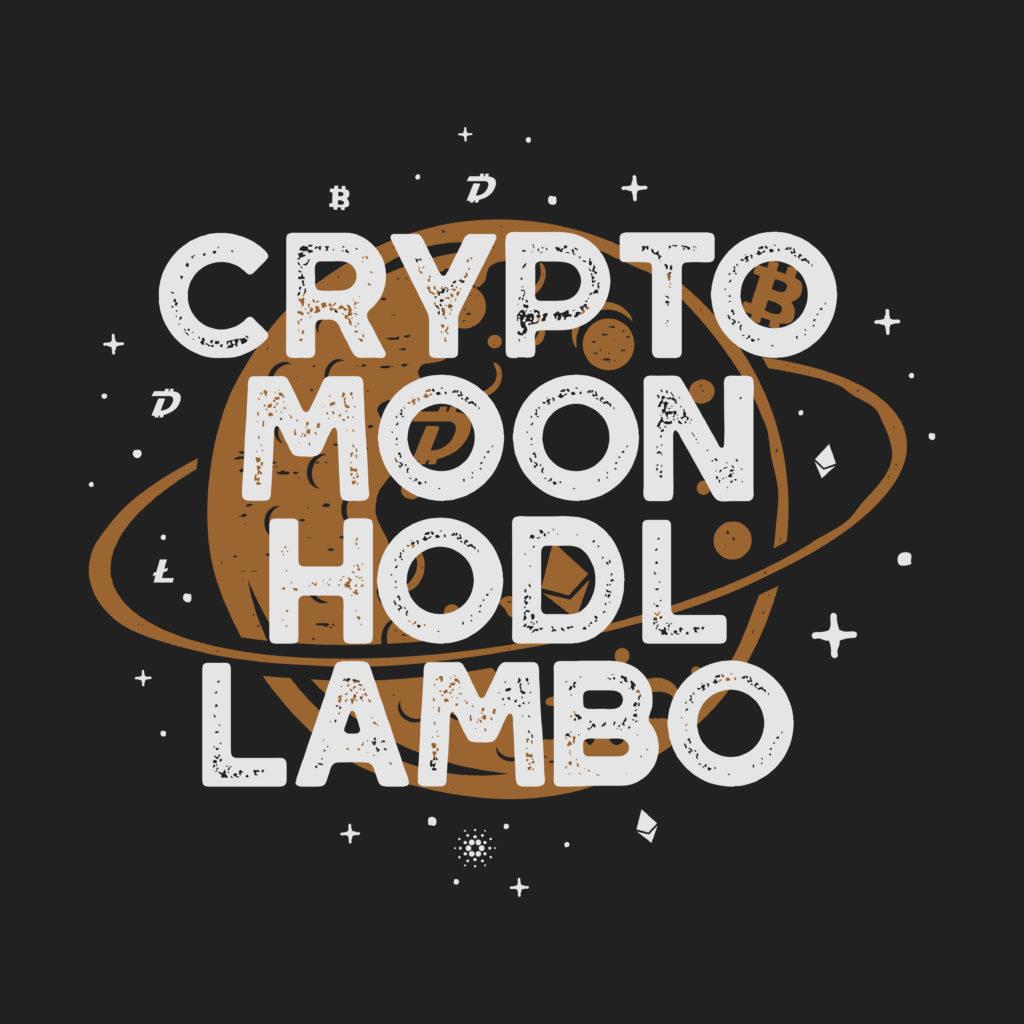 crypto moon hodl lambo