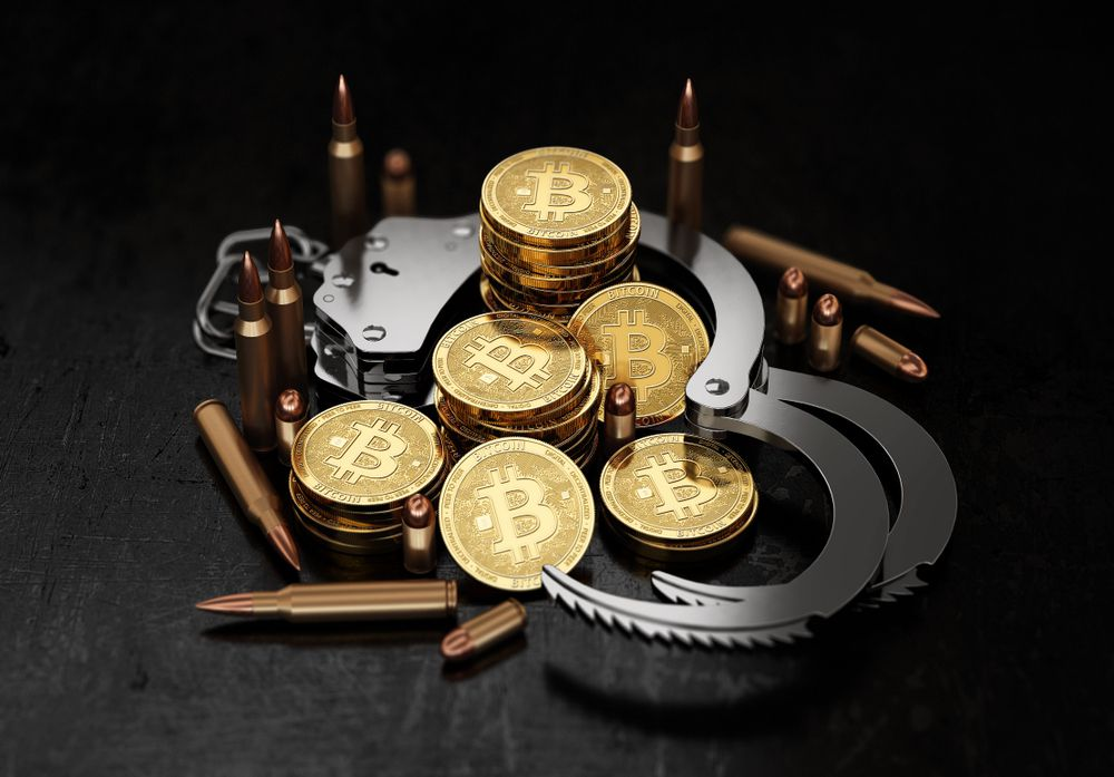 ransom crim bitcoin cryptocurrency