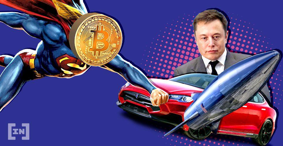 Elon Musk Tesla SpaceX Bitcoin