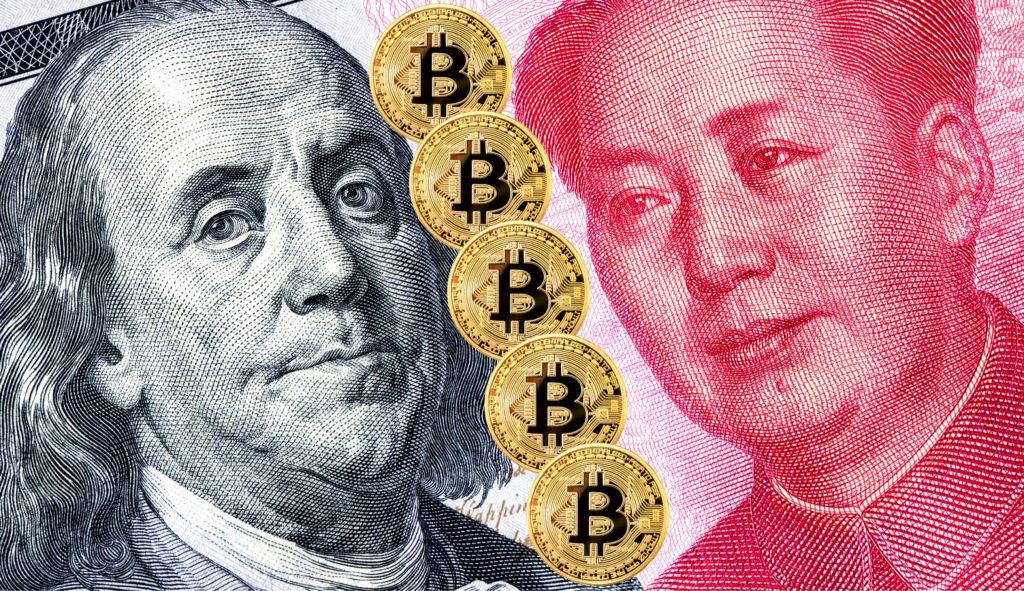 us-china trade war bitcoin