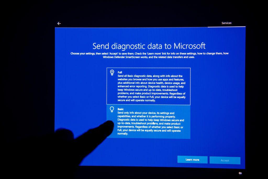 microsoft diagnostic data