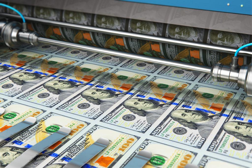 printing U.S. dollars