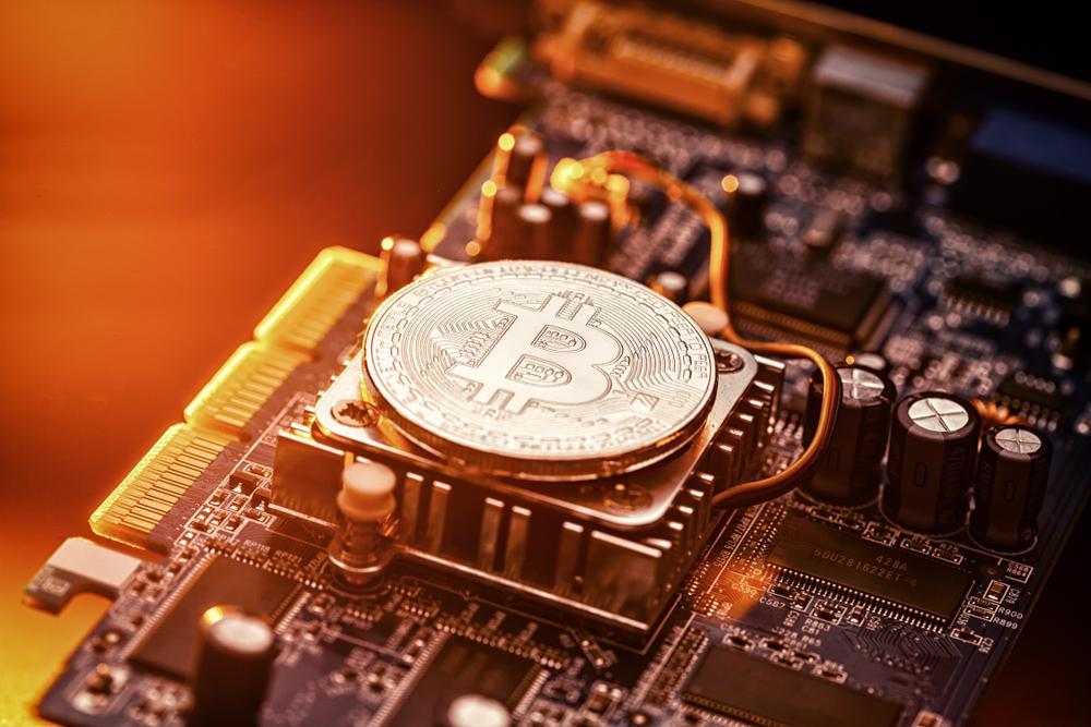 Bitcoin BTC Mining Hash Rate