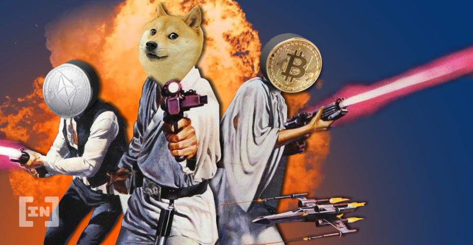 Dogecoin Bitcoin Ethereum DOGE