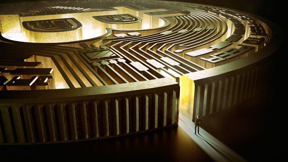 Bitcoin BTC Maze