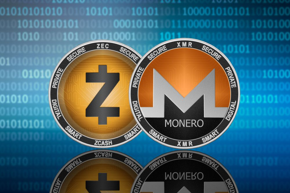 Monero Zcash XMR ZEC