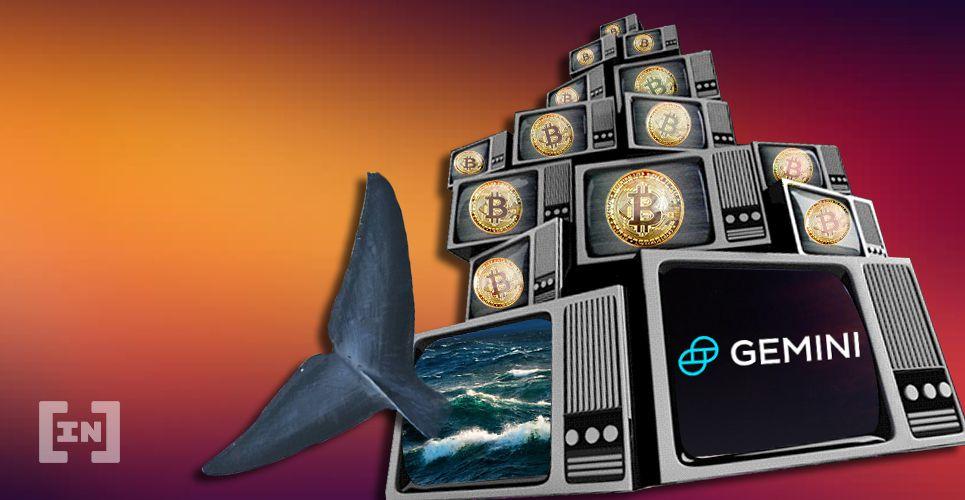 Bitcoin BTC Whale Binance Gemini