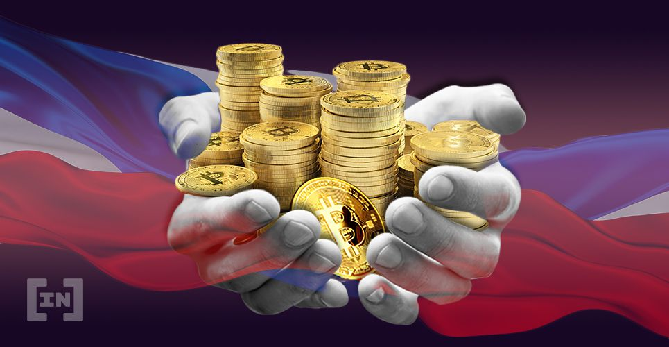 Russia Mining Bitcoin BTC