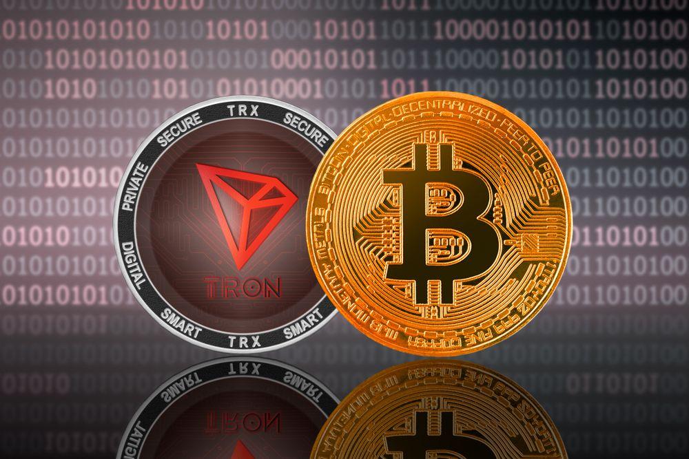 Bitcoin BTC Tron TRX