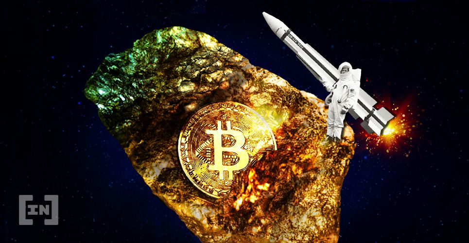 Asteroid Bitcoin BTC Gold