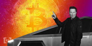 Elon Musk Cybertruck Bitcoin BTC