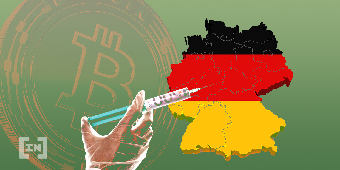 Germany Recession Euro BTC