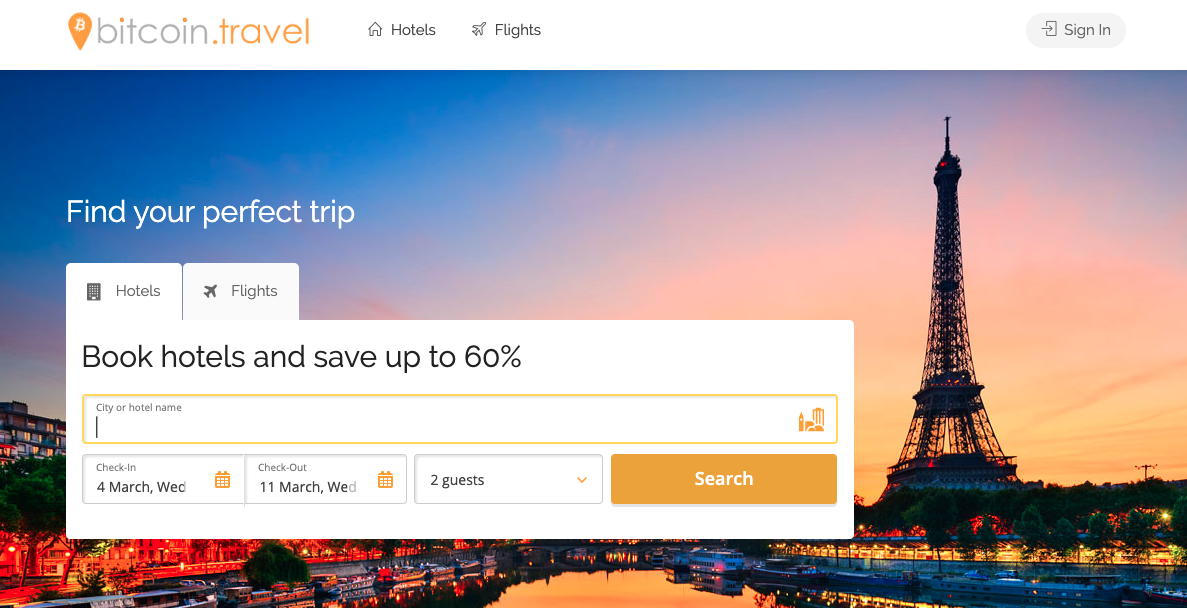 bitcoin.travel