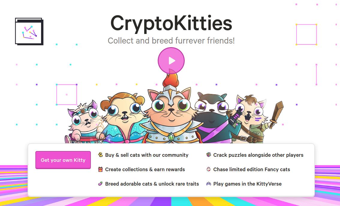 CryptoKitties kryptokotki