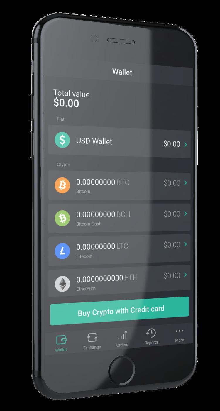 XCOEX application de trading crypto