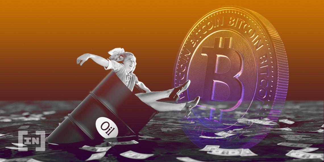 Oil Price BTC Bitcoin
