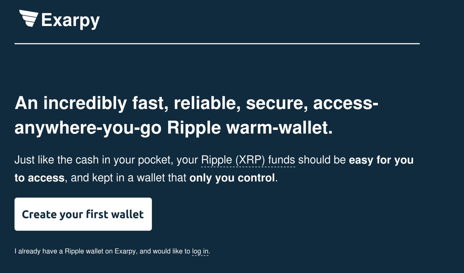 exarpy ripple