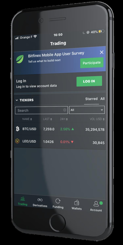 bitfinex crypto échange