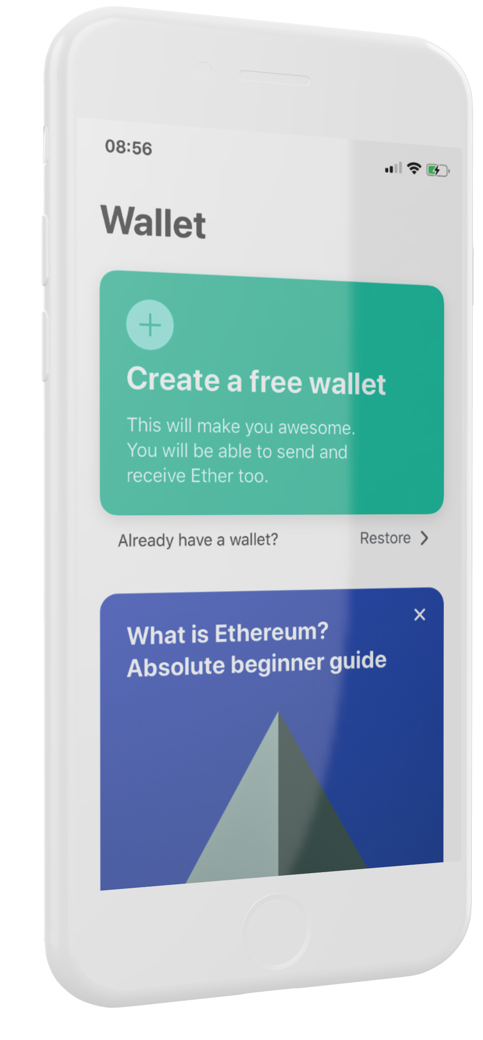 create ethereum wallet