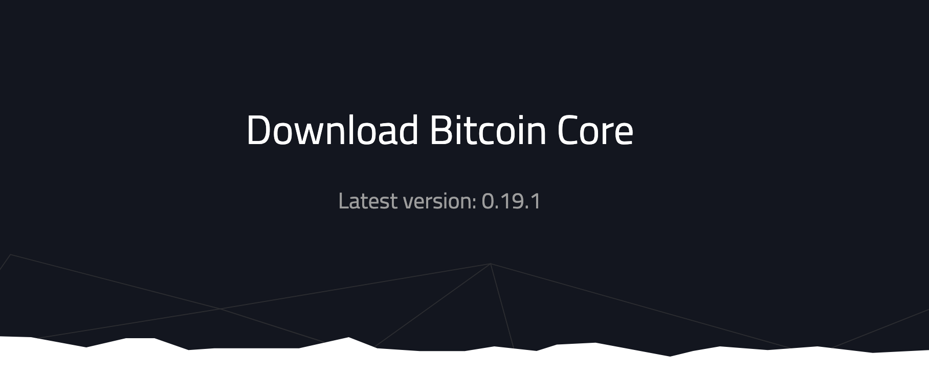 bitcoin core wallet