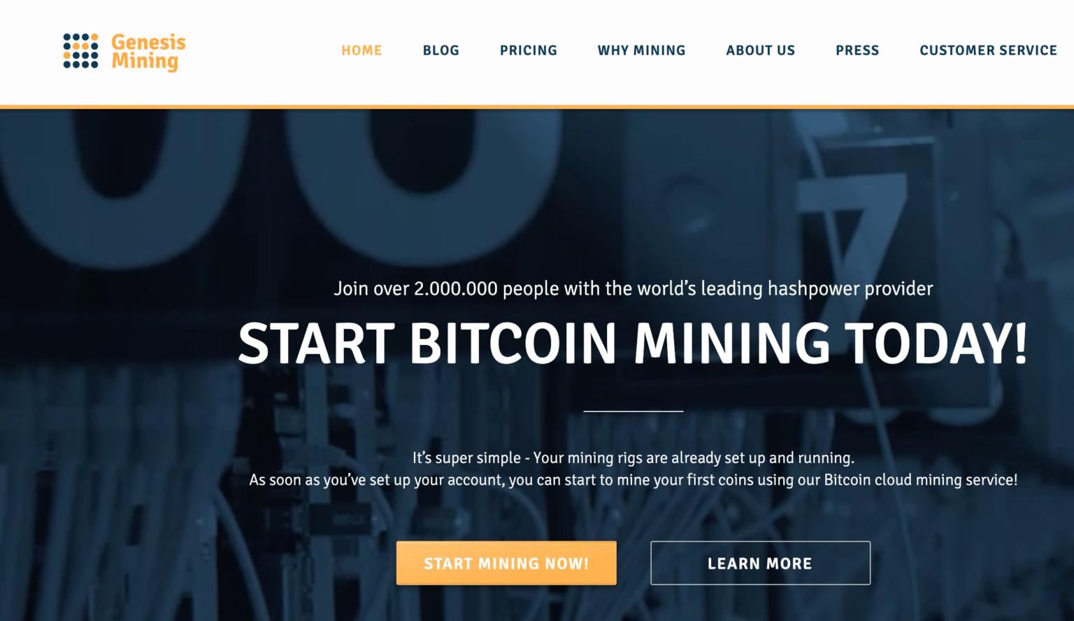 exploitation minière du bitcoin