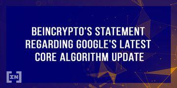 Google Algorithm BeInCrypto
