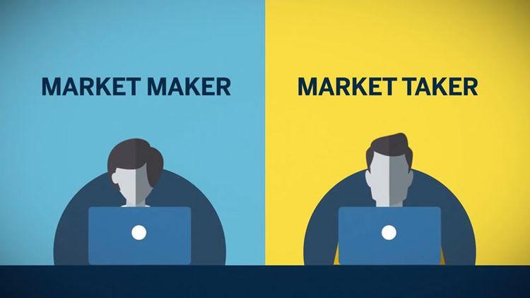 faiseur et preneur de marché