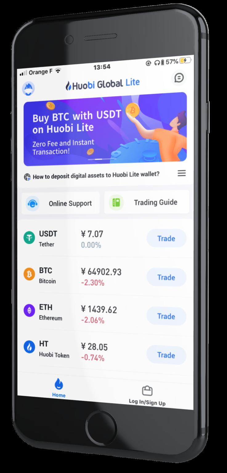 huobi crypto échange