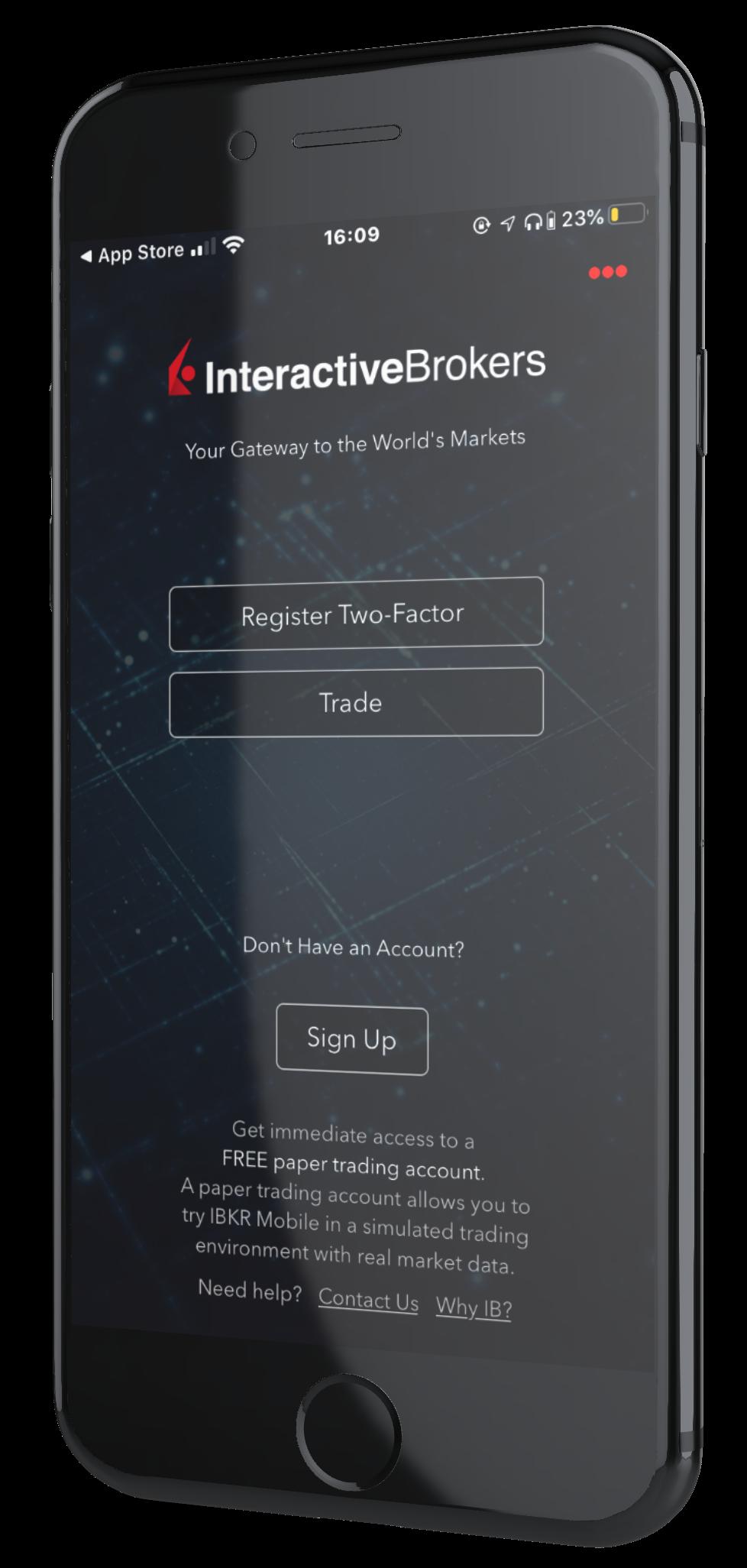 interactive brokers app