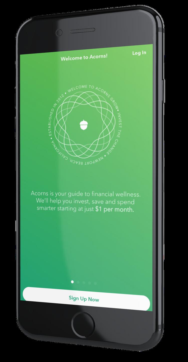 Acorns application d'investissement