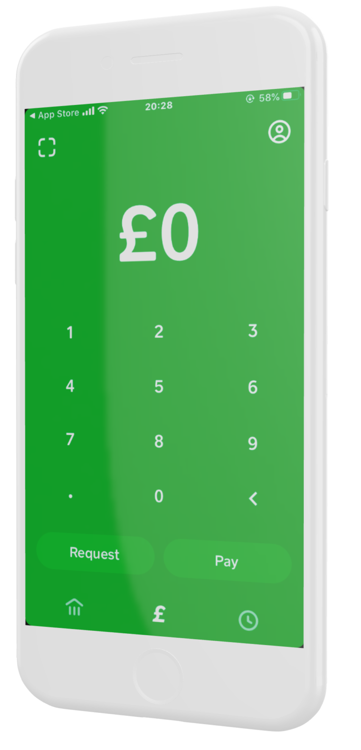 Square (Cash) application d'investissement