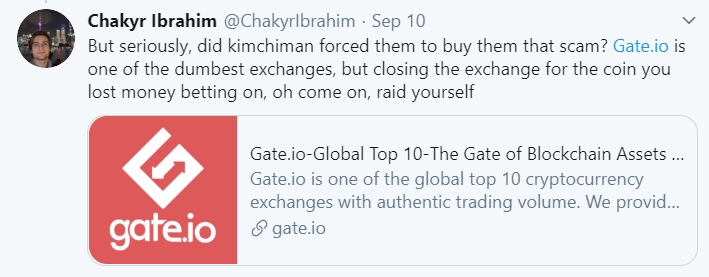 twitter reaction saying you werent forced to buy the scam