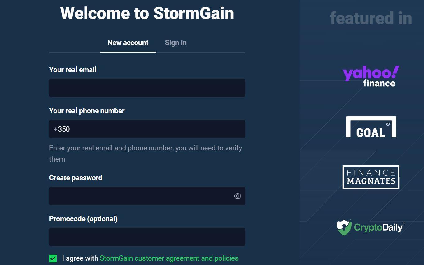 StormGain Review 2020