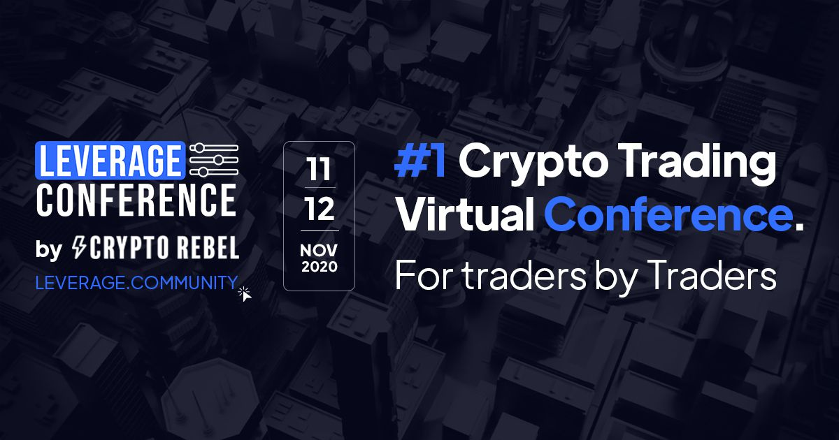 LeverageConf: The World's 1st Dedicated Online Crypto Trading Event.