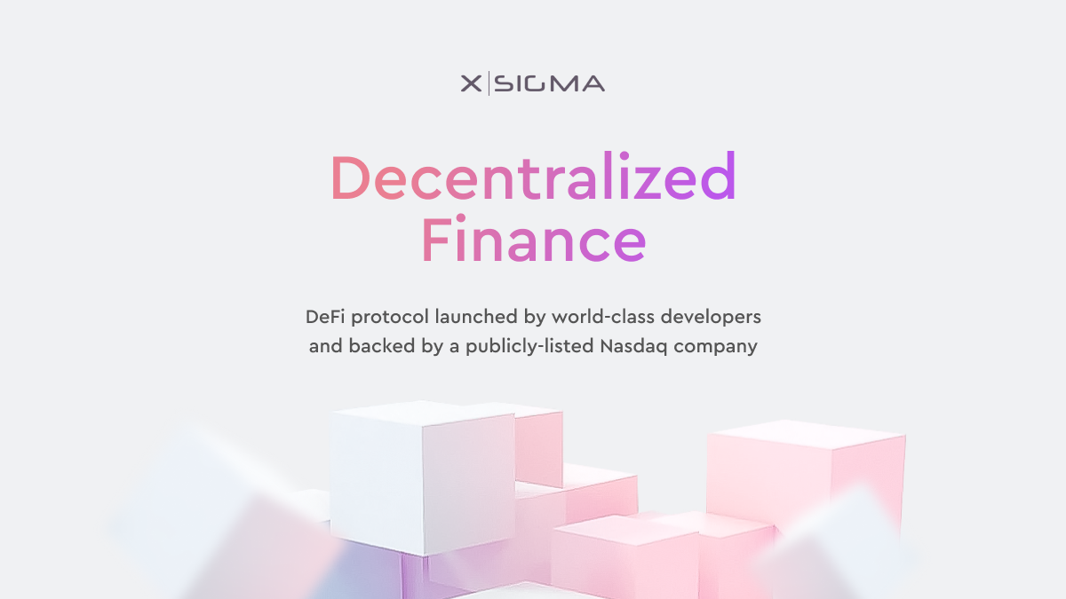 xSigma: World-Class Developers Solving DeFi's Biggest Pain-Points