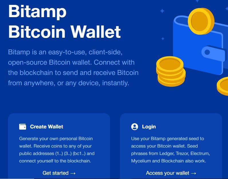 BItamp Bitcoin Wallet Sign up